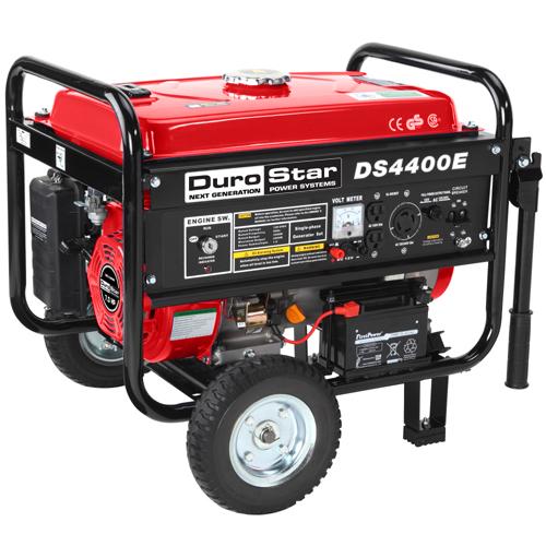 DuroStar DS4400E 4400 Watt Gasoline Portable Generator