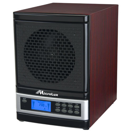 microlux ml4000d pro uv air purifier hepa carbon ion air cleaner ml4000dch - Ionic Pro Air Purifier