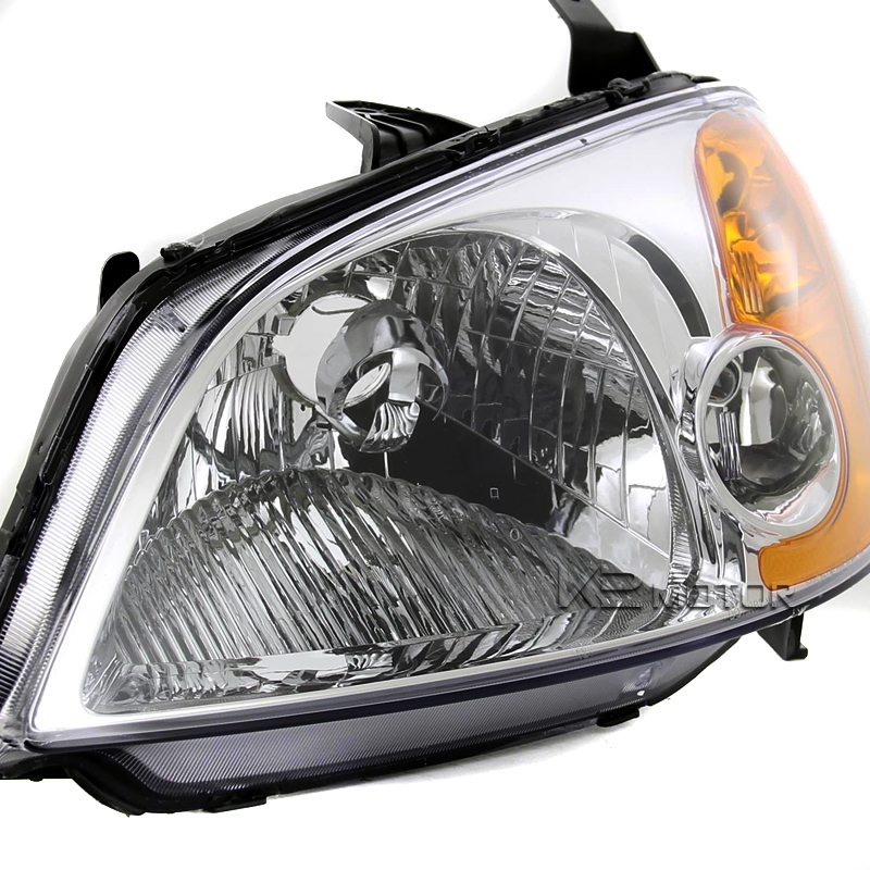 For 2001 2003 Honda Civic Jdm Replacement Clear Headlights