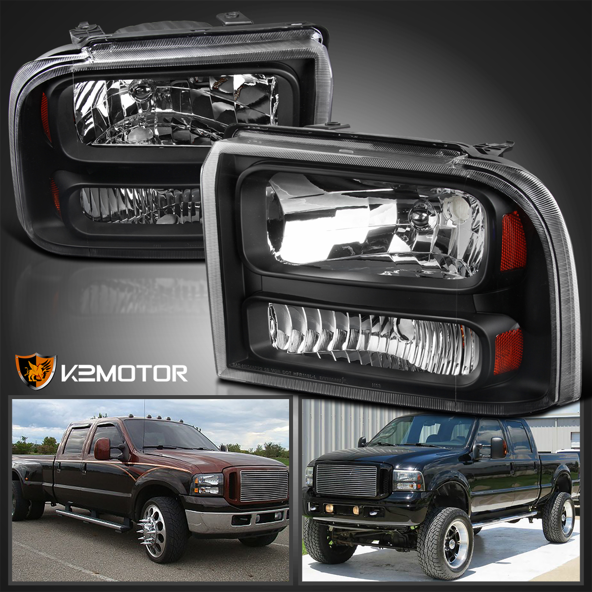 Ford F250 Headlights
