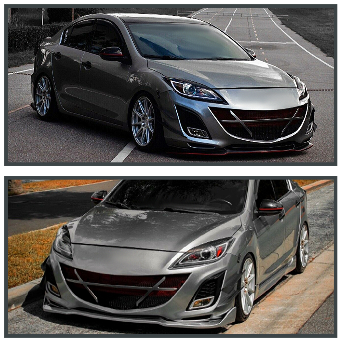 2010 2013 mazda 3 jdm black led drl strip projector headlights 2010 2013 mazda 3 jdm black led drl strip projector headlights pair leftright publicscrutiny Image collections