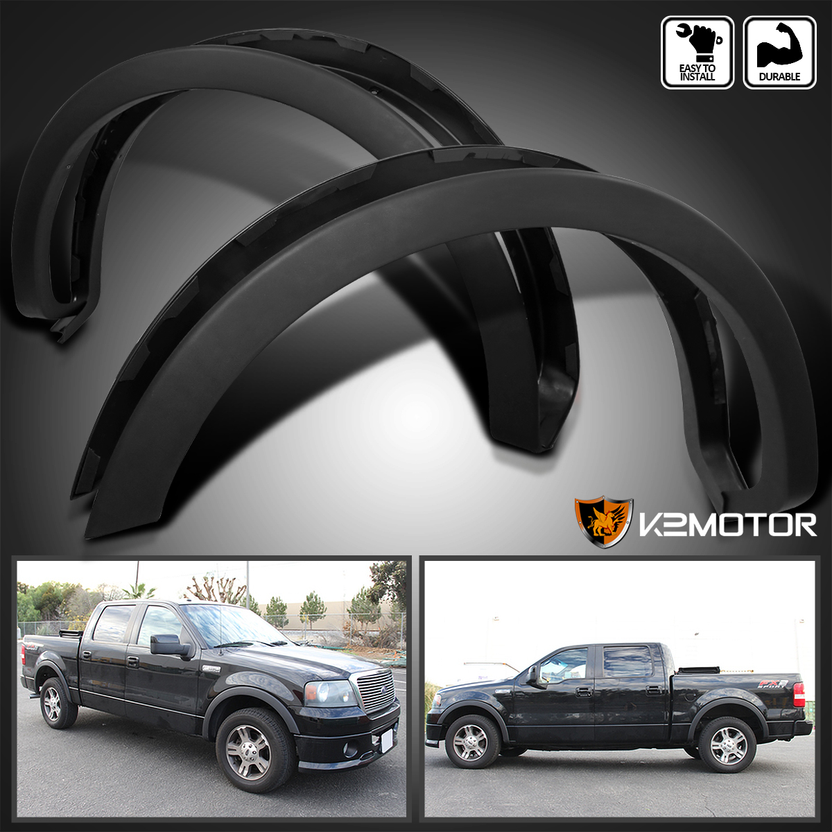 2004 2008 Ford F150 Styleside Factory Style Wheel Covers