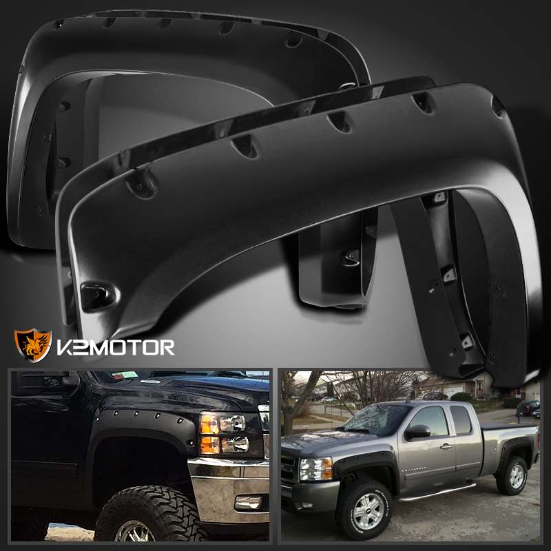 2007-2013 Chevy Silverado 1500 2500HD/3500HD Black Pocket
