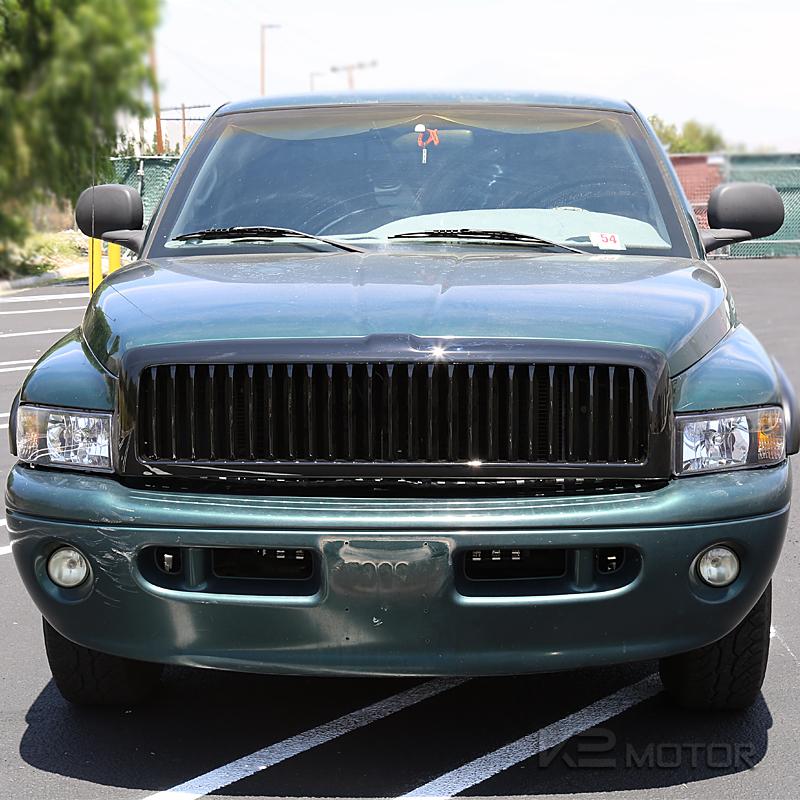 1994-2001 Dodge Ram 1500 2500 3500 Black Front Hood Grill