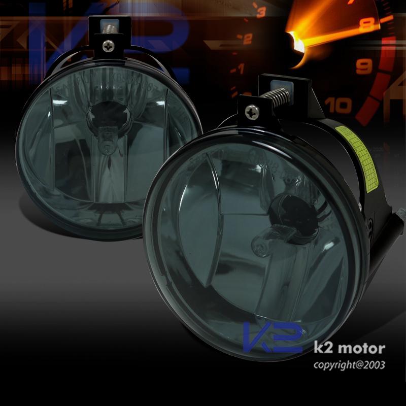03 05 Dodge Neon Bumper Fog Lights Smoke Lens W 899 Bulbs