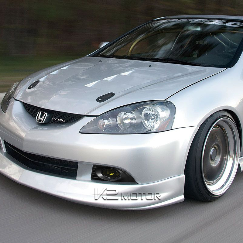 Smoke Acura RSX Front Bumper Lights Driving Fog Lamps - Acura rsx bumper