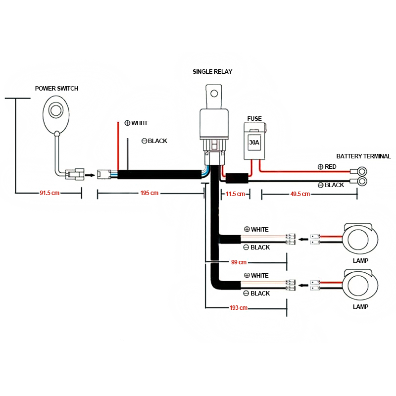 Fog Light Wiring Kit - Data Wiring Diagram on