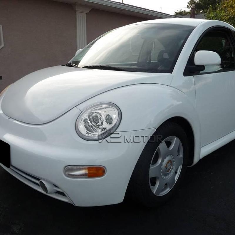 For 1998 2005 Vw Volkswagen Beetle Halo Projector Headlights Pair