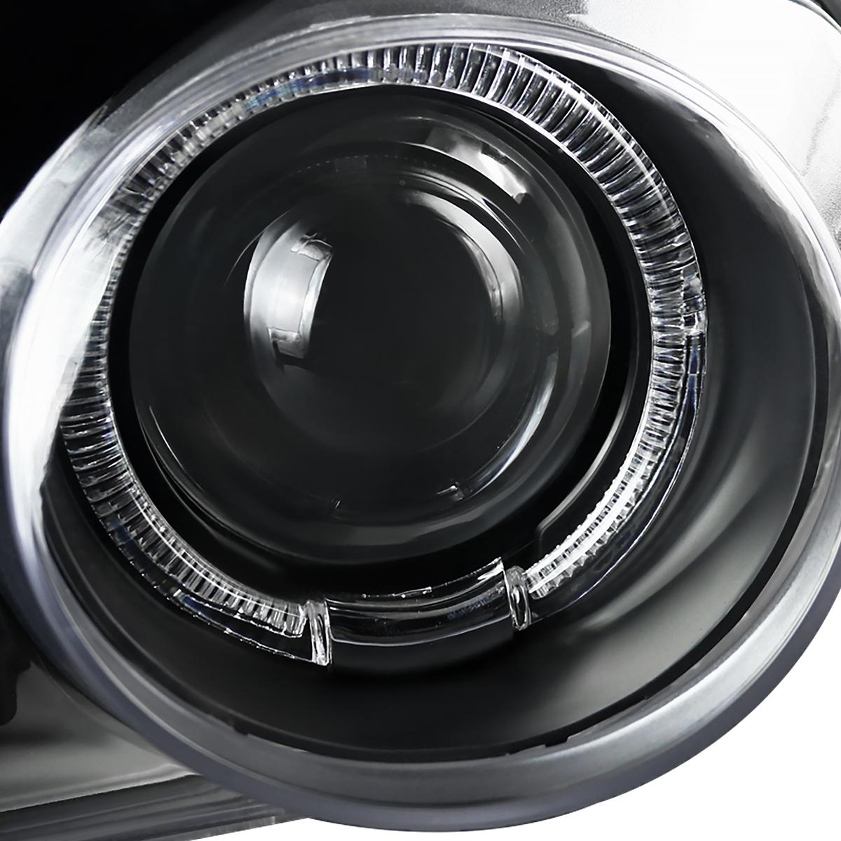 JDM Black 1994-1997 Acura Integra Halo Projector
