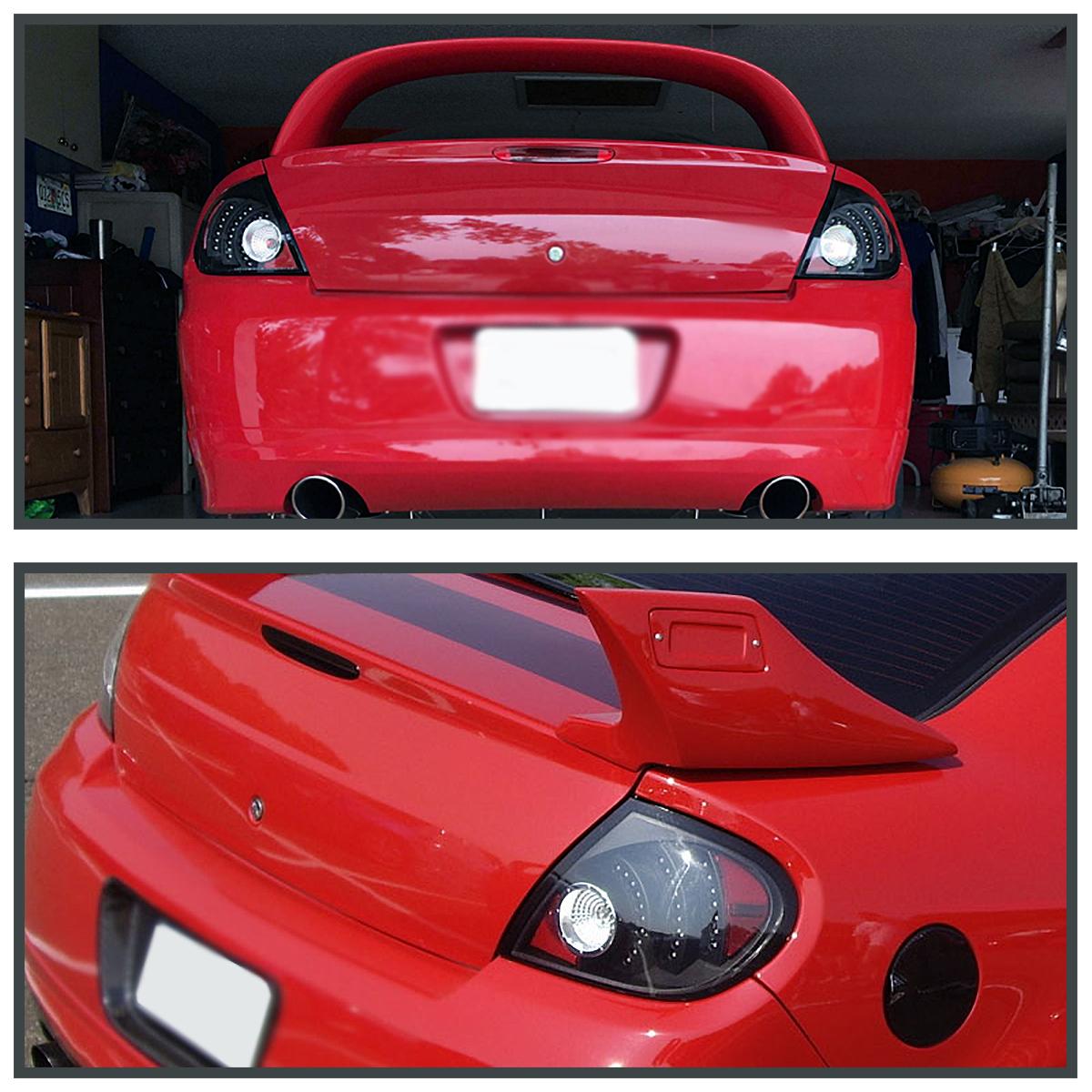 Dodge Led Lights >> 2003-2005 Dodge Neon SRT4 R/T LED Tail Lights Black Depo 684758614711 | eBay