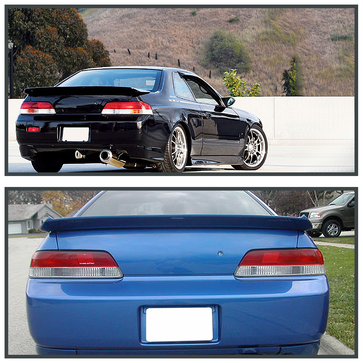 Honda Prelude 1998 Advantage Front Non: For 1997-2001 Honda Prelude Red/Clear JDM Tail Lights