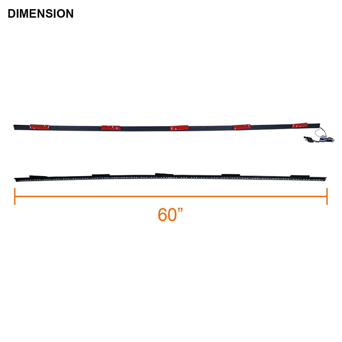 60 sealed suv led function rear tailgate brake light bar strip 60 sealed suv truck multi function led rear tailgate brake light bar strip aloadofball Image collections