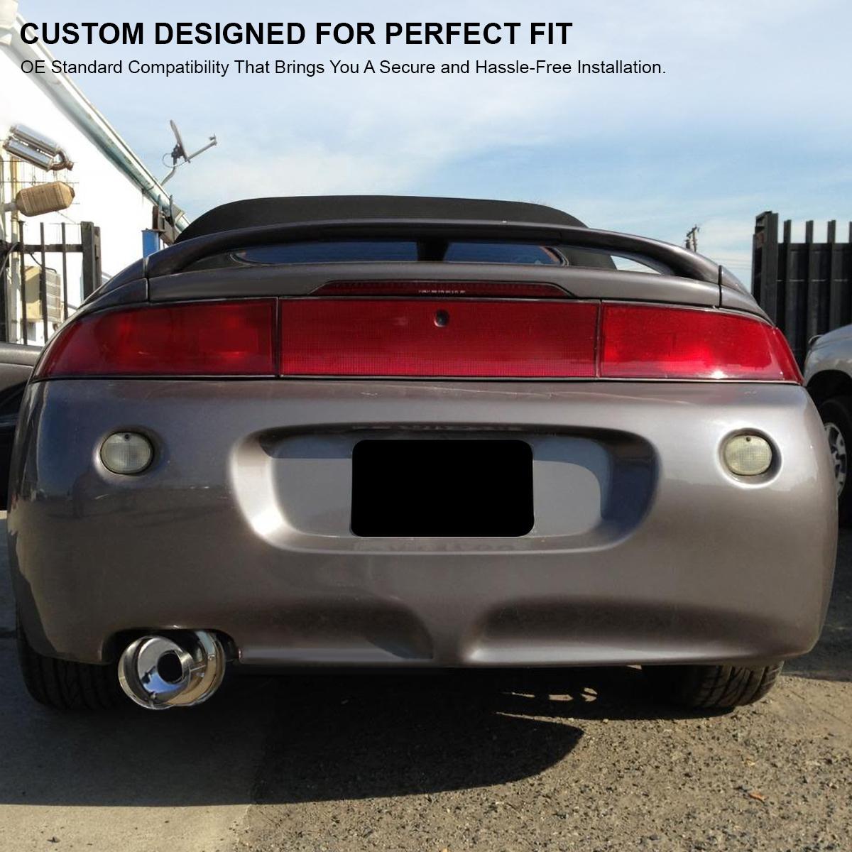 1999 Mitsubishi Eclipse Exterior: 1995-1999 Mitsubishi Eclipse RS GS 2.0L Non Turbo Catback