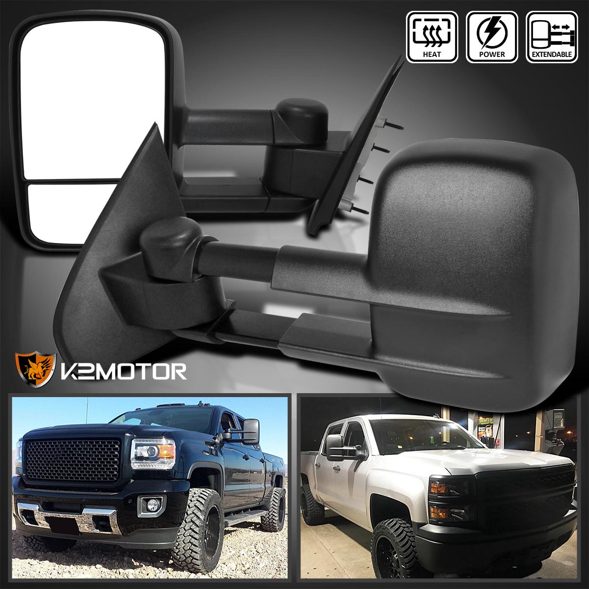 2014-2018  Silverado//Sierra Custom Towing Mirrors