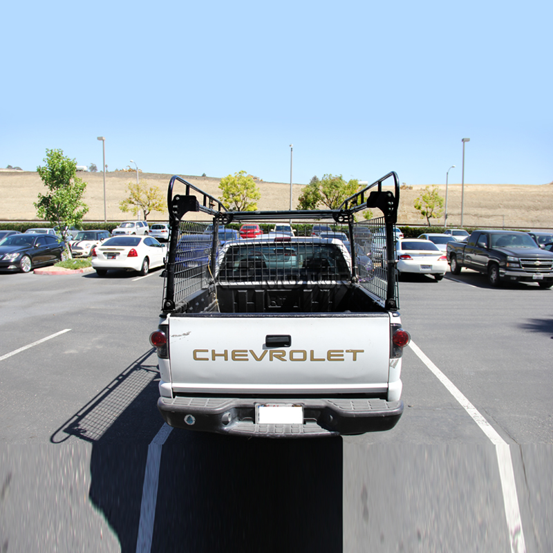 Truck Pipe Rack >> Details About Adjustable Pickup Truck Heavy Duty 1000lb Contractor Ladder Lumber Pipe Rack