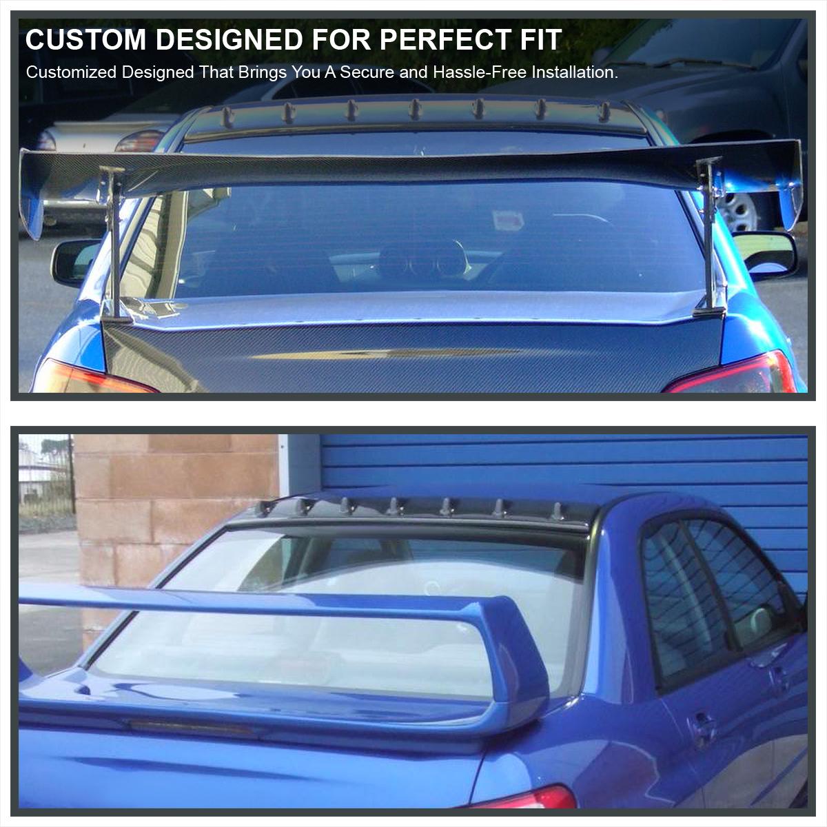 Marvelous For 02 07 Subaru Impreza WRX STI Glossy Black ABS Shark Fin Roof Wing  Spoiler