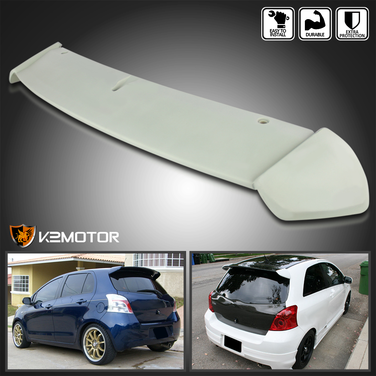 2011 Toyota Yaris Suspension: For 2006-2011 Toyota Yaris Hatchback ABS Factory Rear Roof
