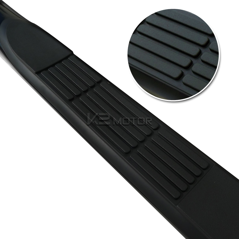 "Smittybilt 3 Nerf Bar Running Boards 2006 08 Dodge Ram: 2004-2008 Ford F150 3"" Regular Cab Black Running Boards"