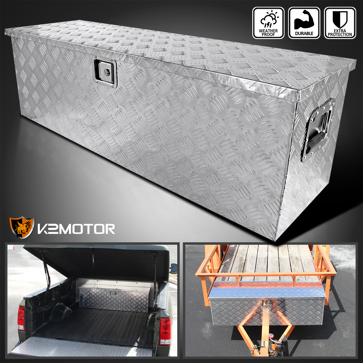 Side truck tool boxes f750 box bed top mount tool box - Pickup bed storage boxes ...