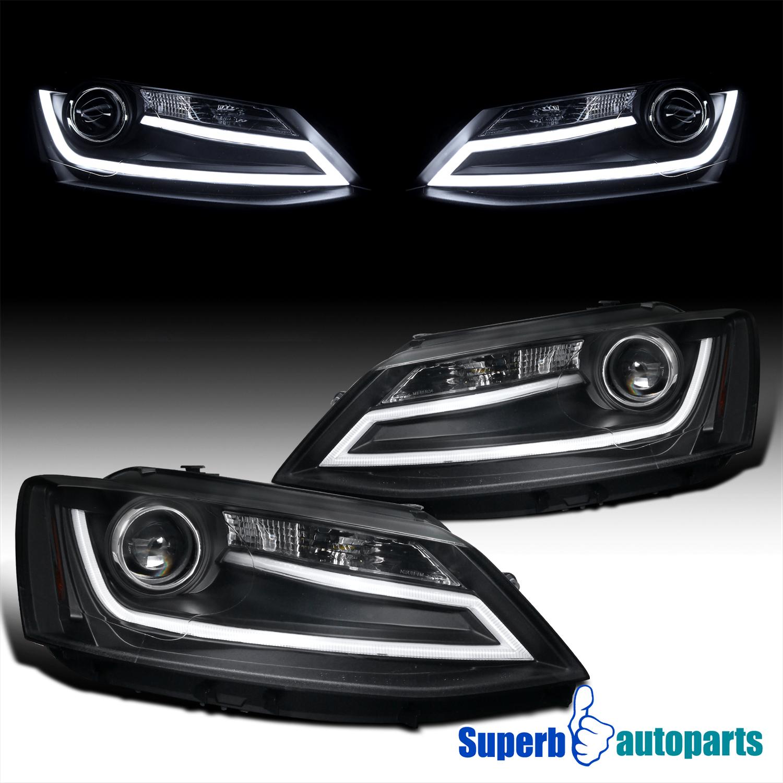 R8 Style LED lights for VW VOLKSWAGEN PASSAT JETTA fog side DRL