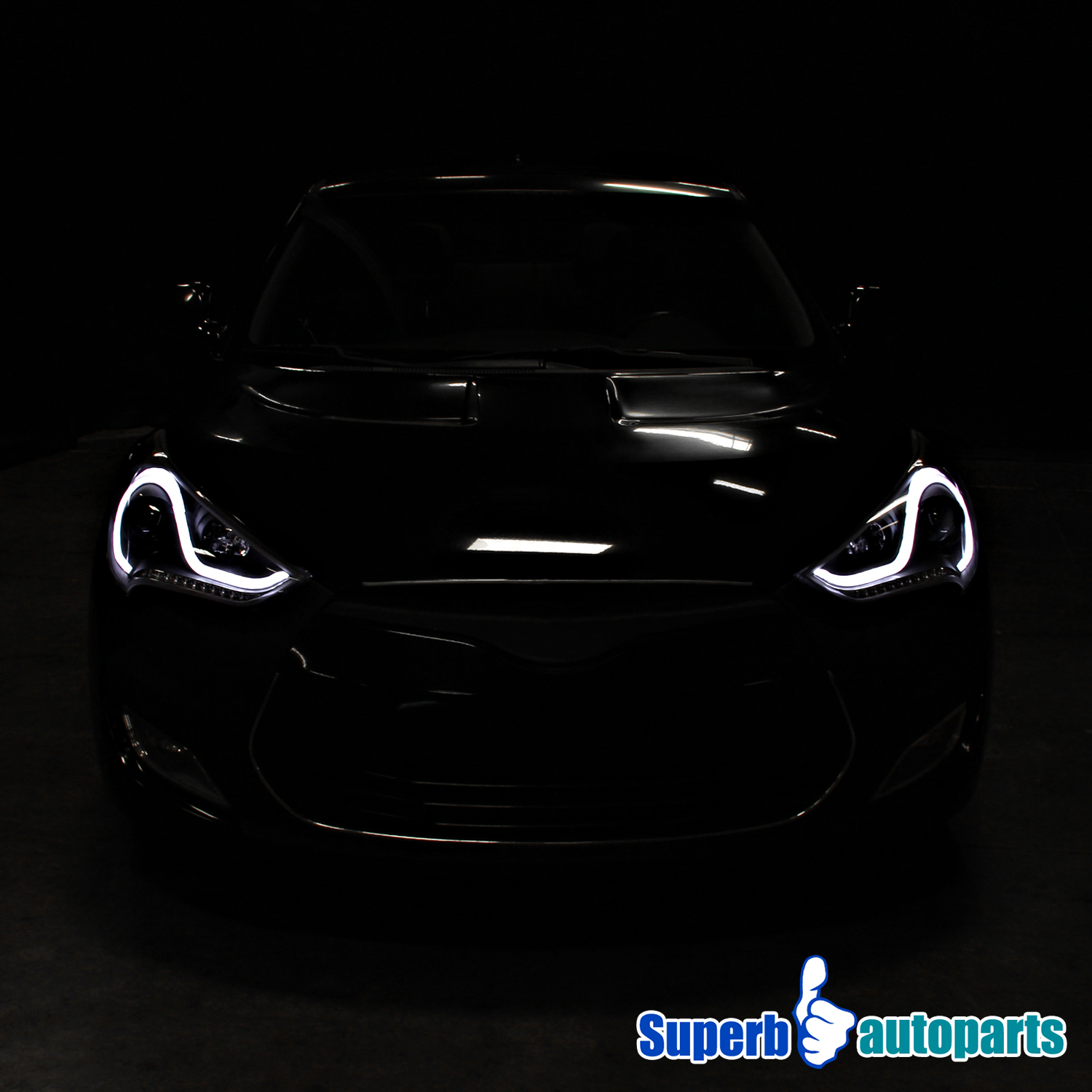 12 Hyundai Veloster: For 12-15 Hyundai Veloster LED Sequential Signal Projector