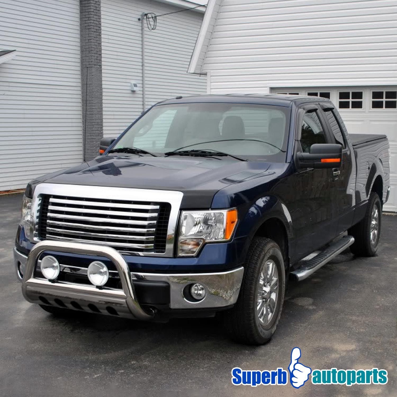Dodge Ram Bull Bar >> Details About For 2009 2018 Ram 1500 3 Stainless Steel Bull Bar Push Guard W Skid Plate