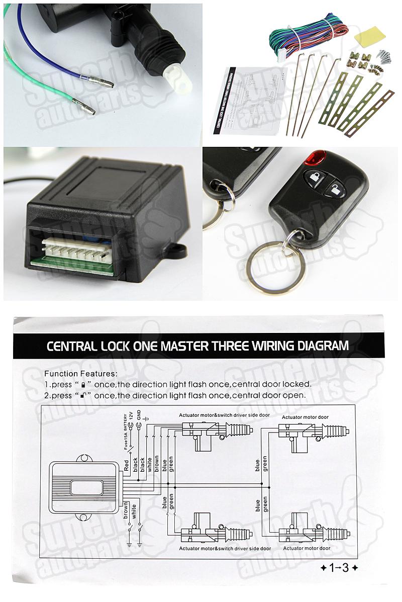 Power Door Lock Kit W Keyless Entry Images - doors design modern