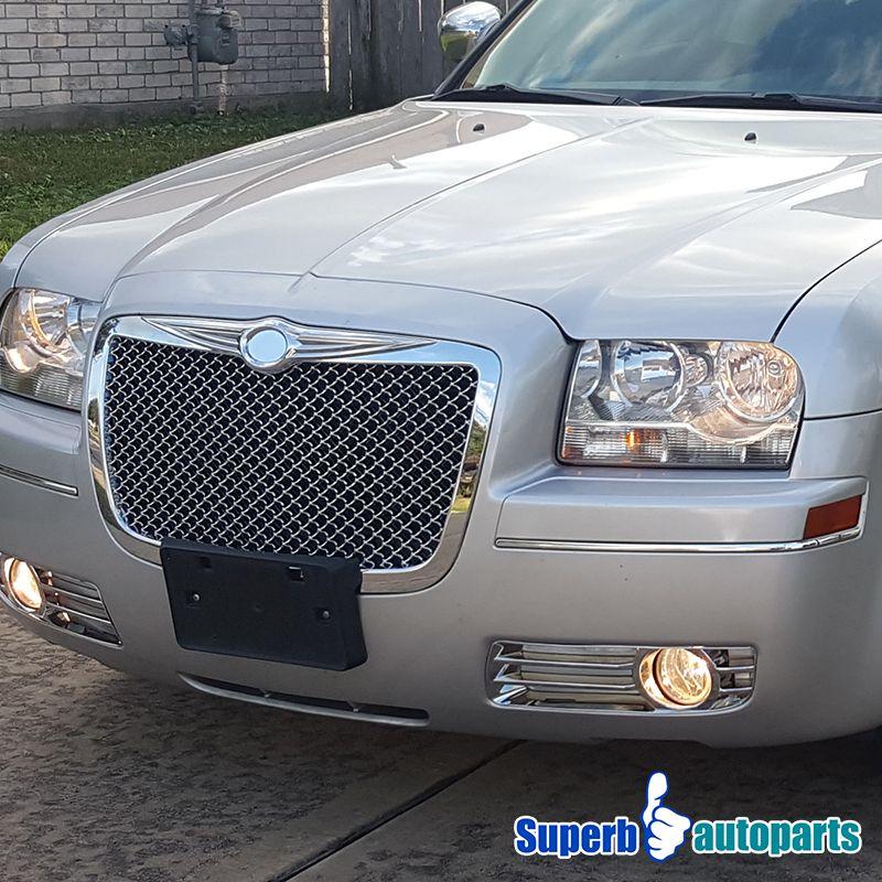 2005-2010 Chrysler 300 300C Front Mesh Grill Hood Grille