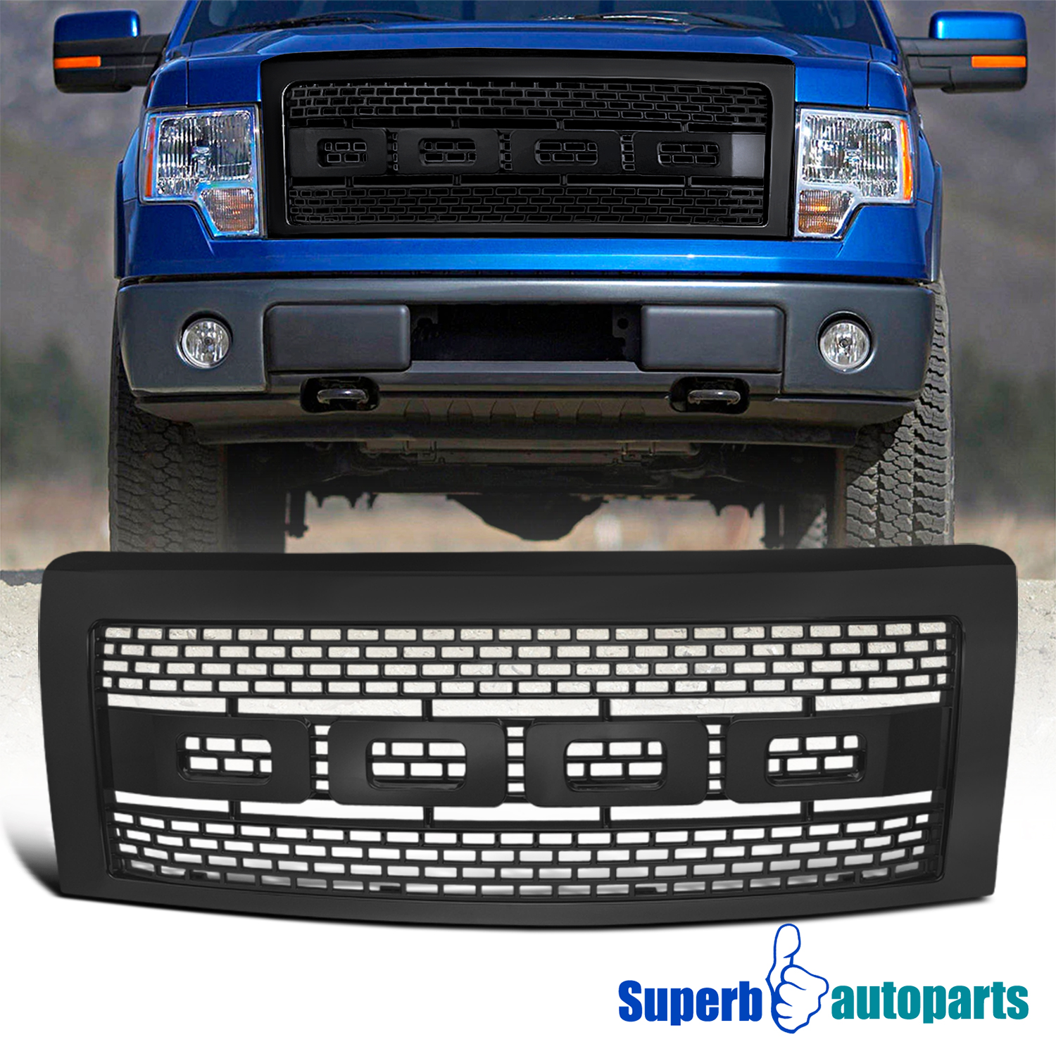 2012 Ford F150 Front Bumper