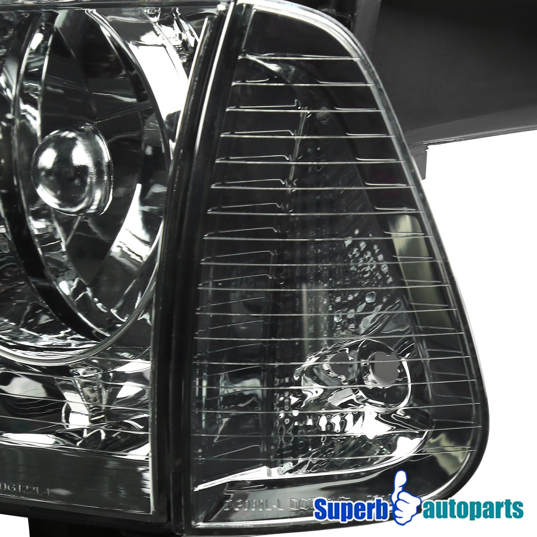 2006 2010 Dodge Charger Euro Chrome Smoke Headlights