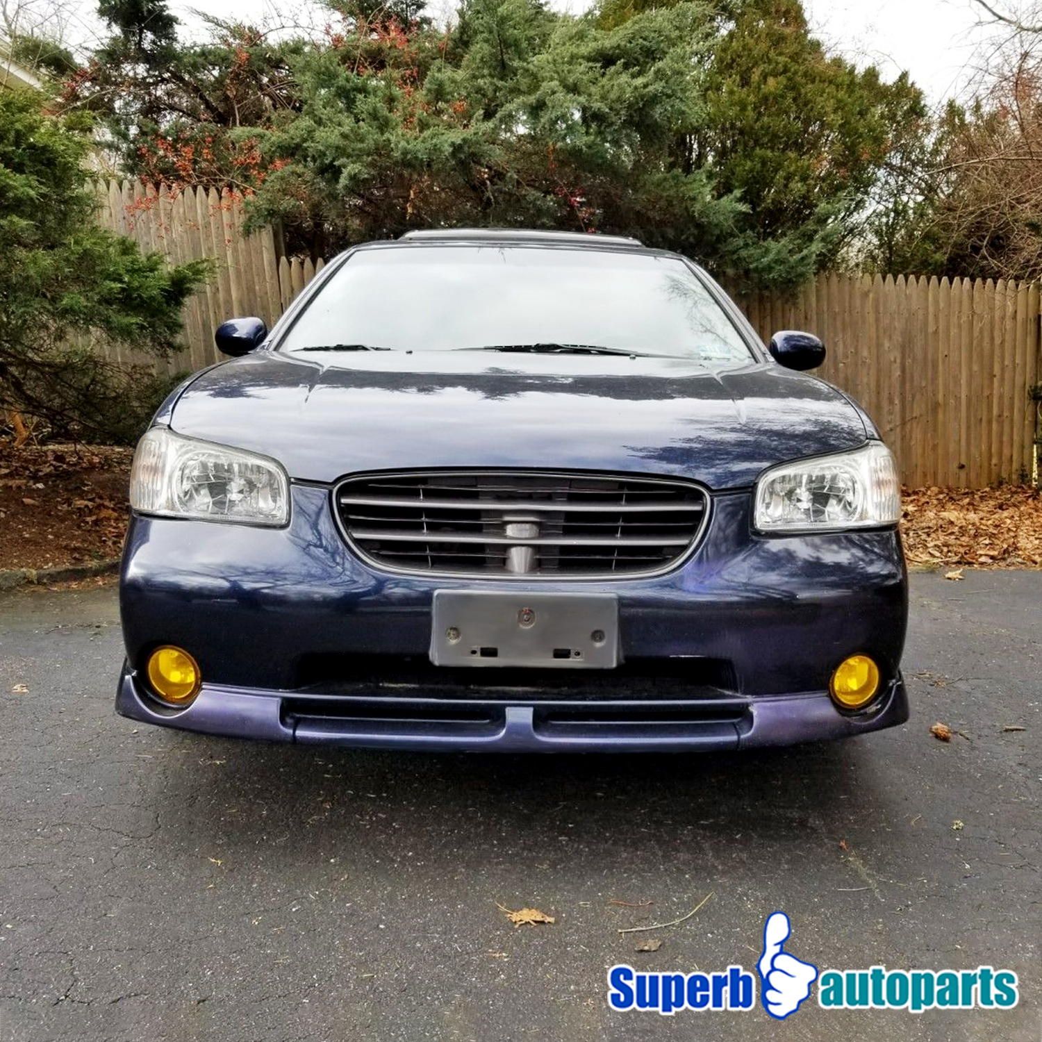 For 2000-2001 Nissan Maxima Sentra Frontier Yellow Lens ...