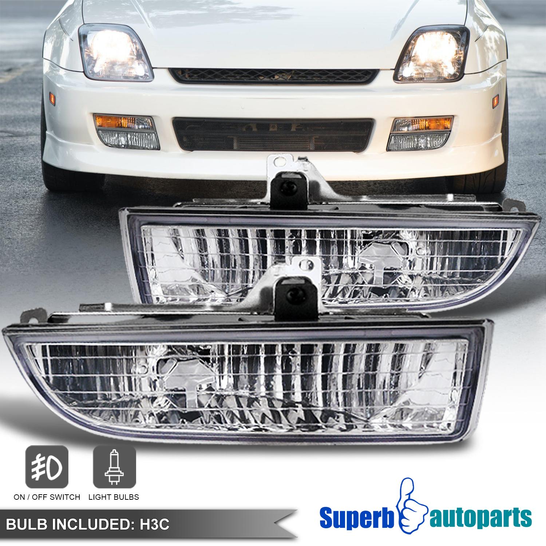 For 1997-2001 Honda Prelude Bumper Fog Lights Driving