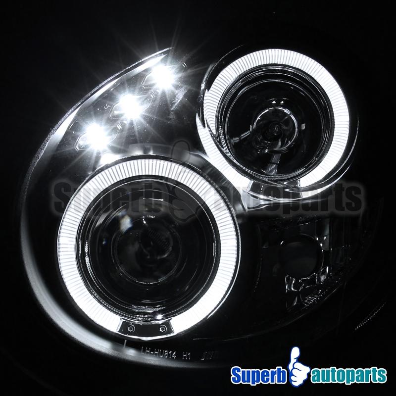 Per il 2002-2003 Subaru Impreza Wrx Rs Led Dual Halo-2108