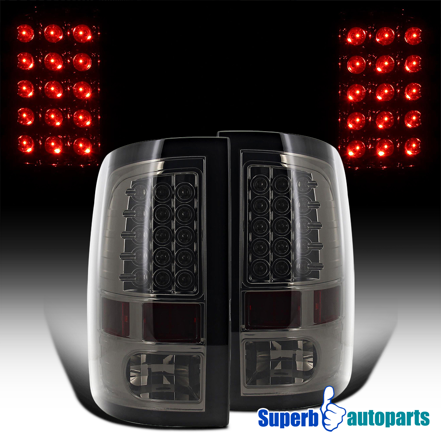 2009 2016 Dodge Ram 2500 3500 Smoke Led 3rd Third Brake: 09-18 Dodge Ram 1500 10-18 2500 3500 LED Brake Lamps Tail