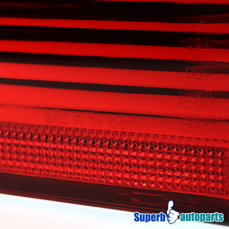 2000 2005 bmw x5 e53 euro tail lights brake lamp red. Black Bedroom Furniture Sets. Home Design Ideas