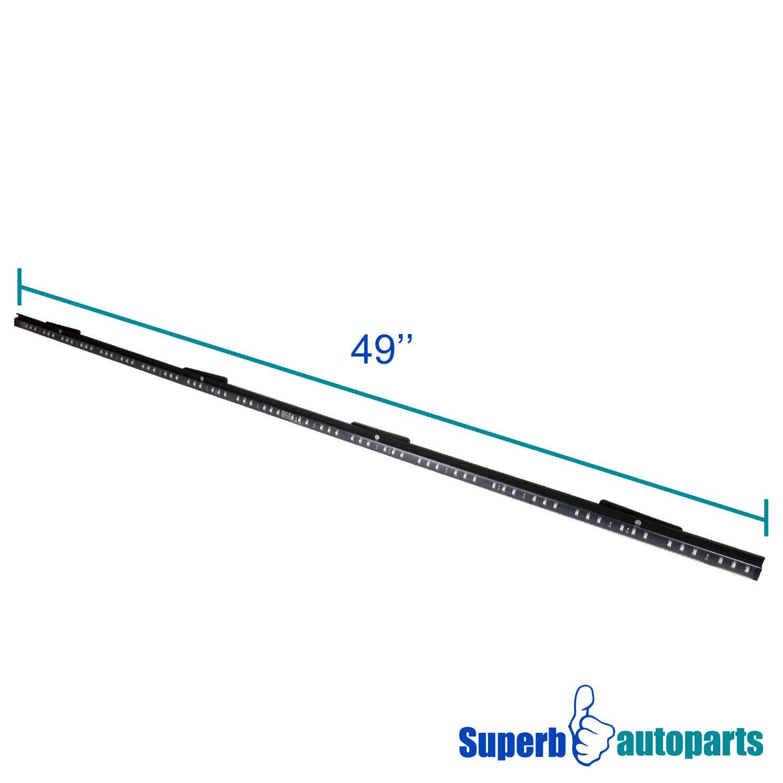 49 u0026quot  led tailgate light bar line of fire signal reverse