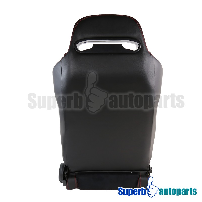For 90-93 Integra Sport Style PVC Suede Leather Racing