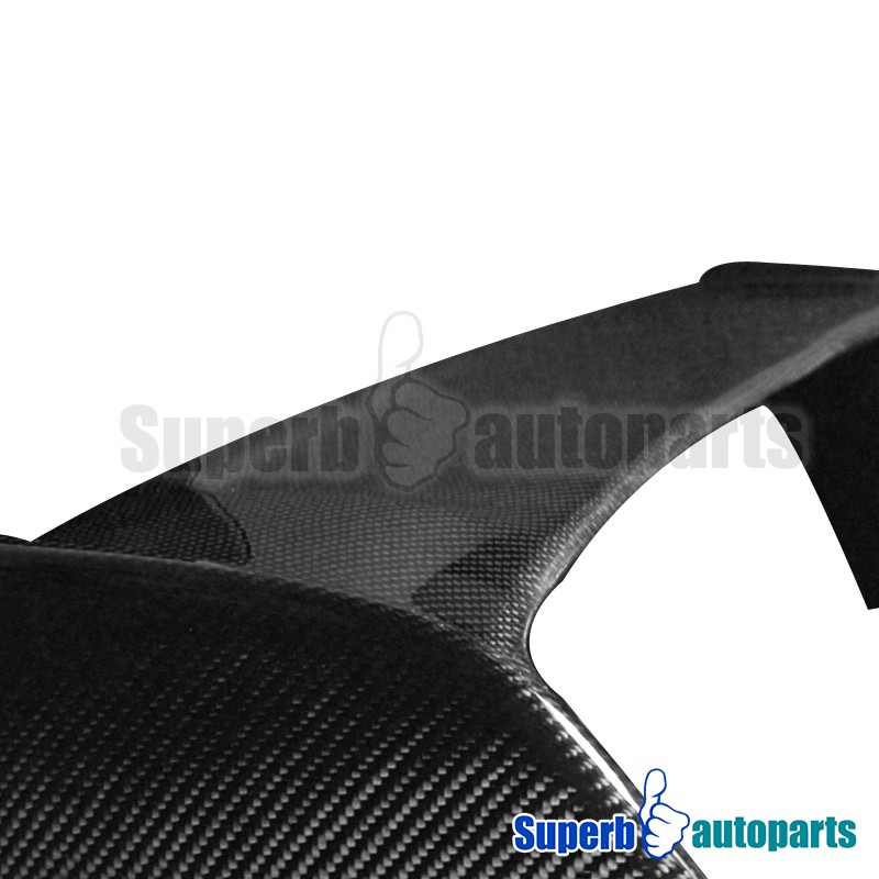 2002-2006 Acura RSX Real Carbon Fiber Trunk Spoiler Wing