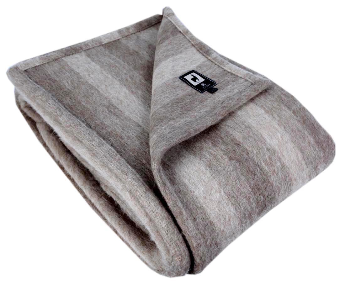 new woven 100 natural alpaca merino wool blanket throw 0174 beige tan king size. Black Bedroom Furniture Sets. Home Design Ideas