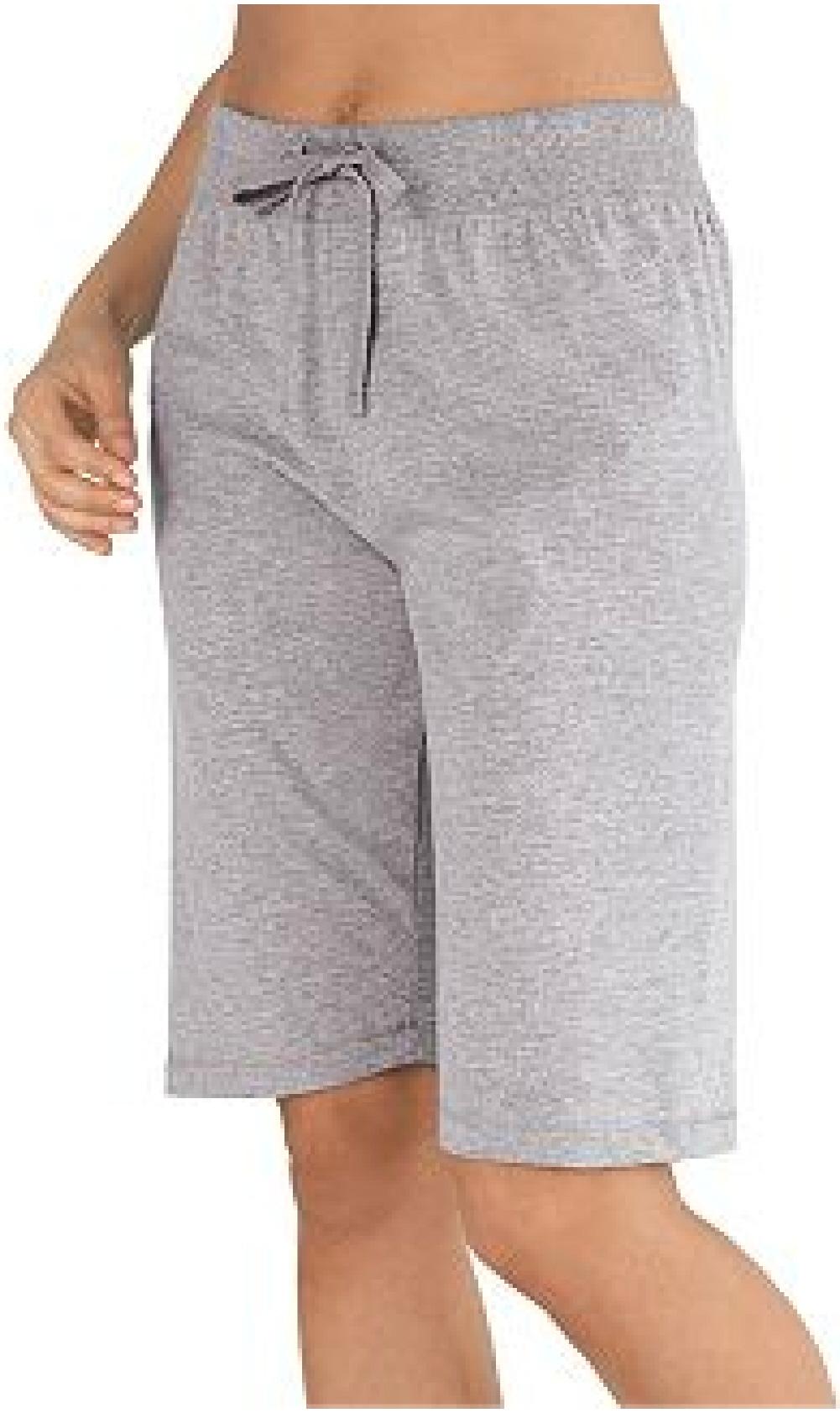 Womens Champion Favorite Cotton Jersey Bermuda Shorts - 8287