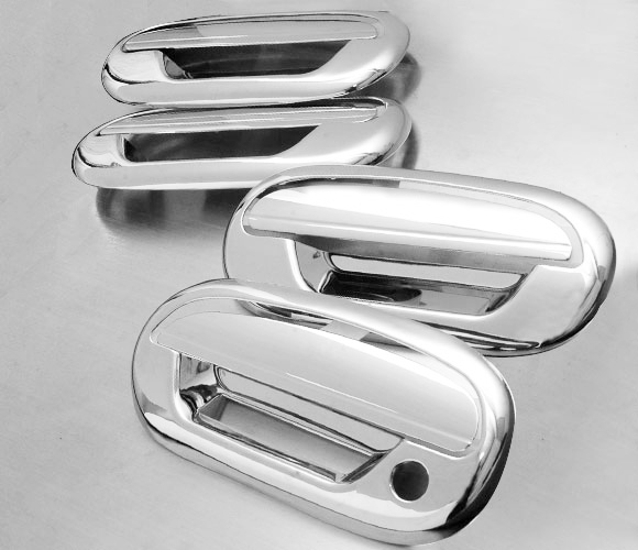 97 03 Ford F150 Expedition Chrome Door Handle Cover w Keypad