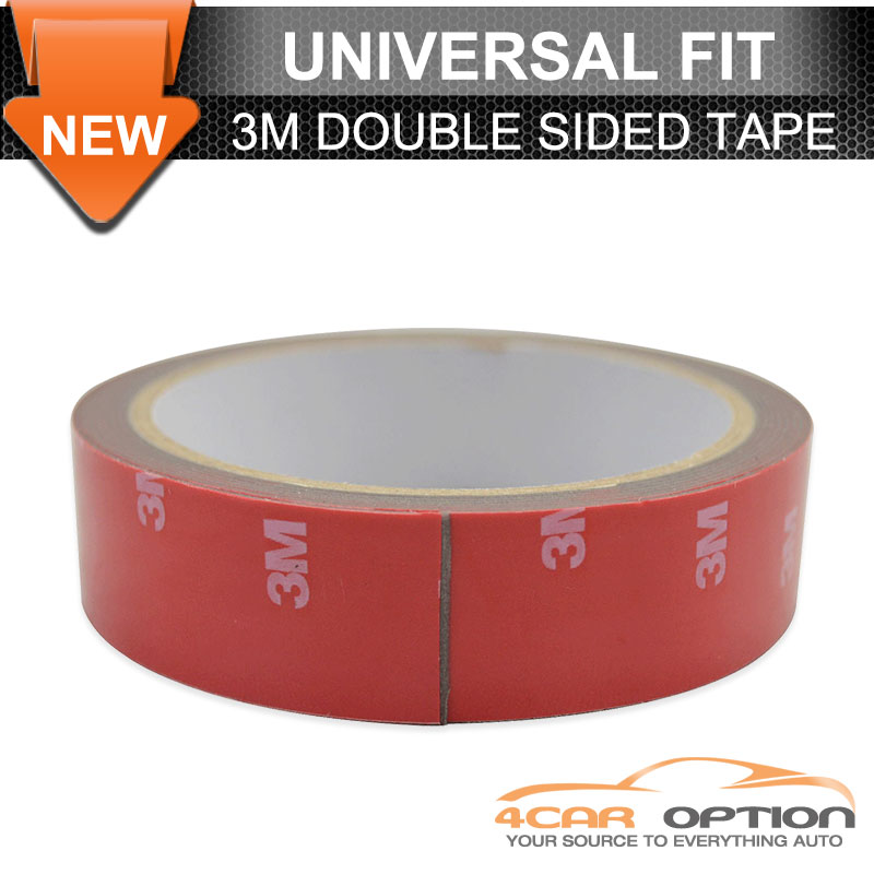 Universal Double-sided Acrylic Foam Adhesive Tape Automotive Home 3 Meters Long