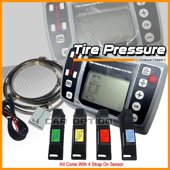 Fits Toyota Tire Pressure Monitoring System 4 Sensors