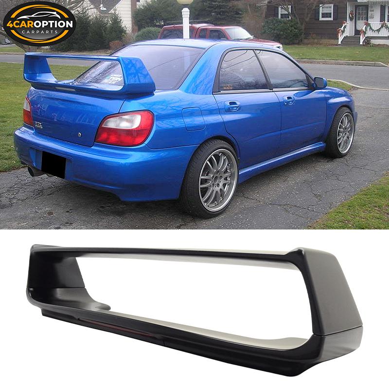 2004 2005 2006 2007 2008 Subaru Impreza STI w//STI spioler Waterproof Car Cover