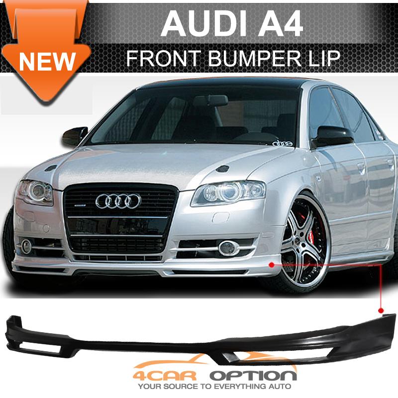 Fits 06-08 Audi A4 B7 Euro A Poly Urethane Front Bumper