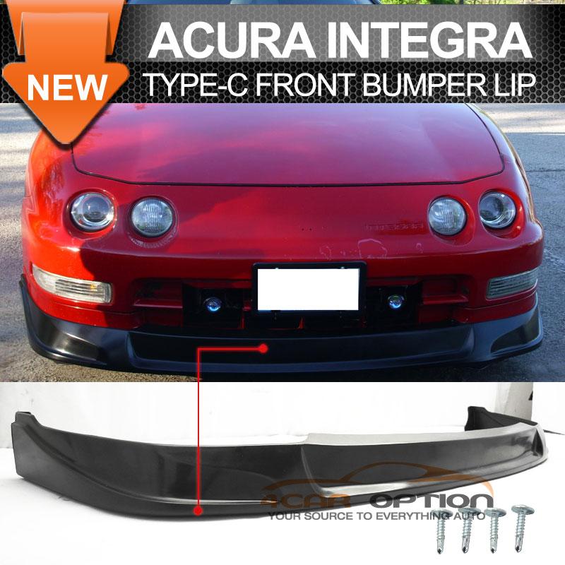 Fits: 94-96 Acura Integra Type-C Front Bumper Lip Spoiler