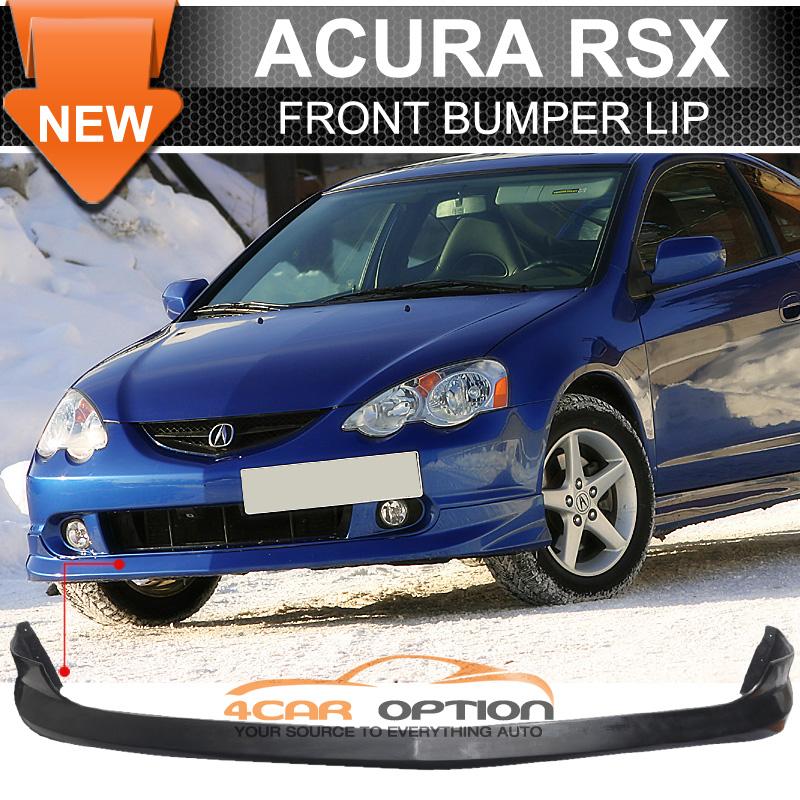 02-04 Acura RSX DC5 Type A Front Bumper Lip Spoiler