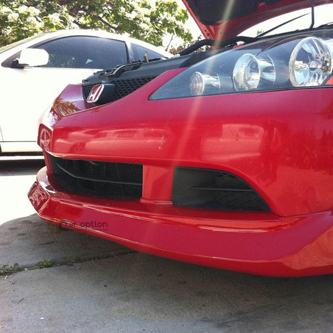 05-06 + Acura RSX Mugen Type Poly Urethane Black Front