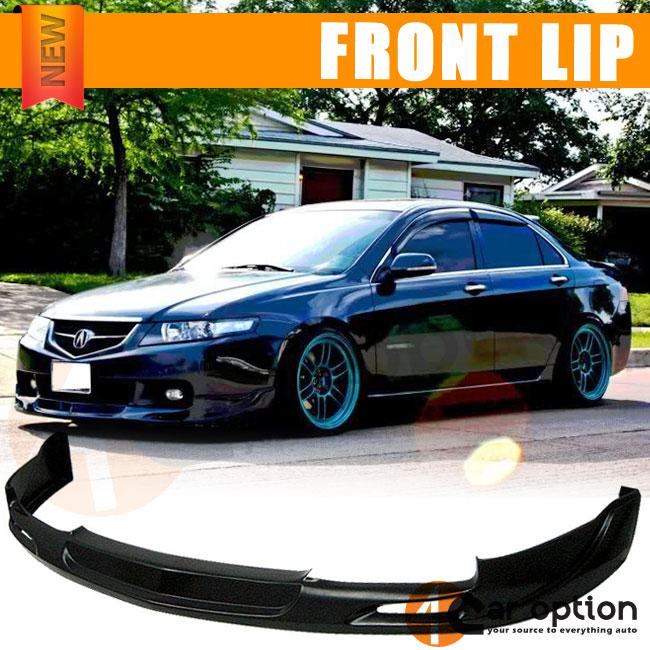 04-05 Acura TSX MG Urethane Front Bumper Lip Spoiler