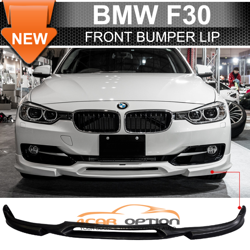 Fits 12 15 Bmw F30 3 Series K Style Front Bumper Lip Spoiler